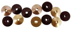 HERM/AM-93 - Hermle Style 12-Piece Hand Nut Assortment - Image 1