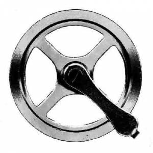 "HERMLE-24 - Hermle Style 1-1/2"" Pulley - Image 1"