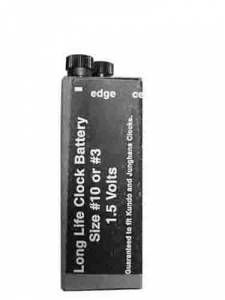 HORO-50 - #10 Or #3 Long Life Clock Battery - Image 1