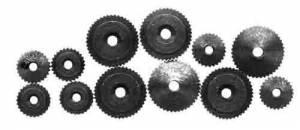 KIEN-93 - Kieninger 12-Piece Brass Hand Nut Assortment - Image 1