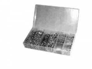 LUDWIG-93 - Brass Mini Wood Screw 1400-Piece Assortment - Image 1