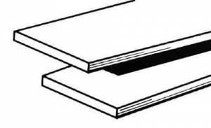 "LYON INDUST-7 - .001"" Brass Sheet  6"" X 6"" - Image 1"