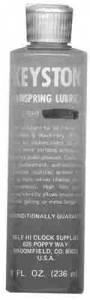 MILE-HI-6 - Keystone Mainspring Lubricant - Medium  8 Ounce