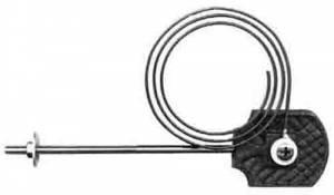 "PM-16 - 4-5/8"" Mantel Clock Gong & Base - Image 1"