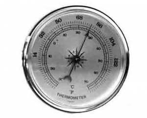 "PRIMEX-89 - 2-3/4"" Thermometer"