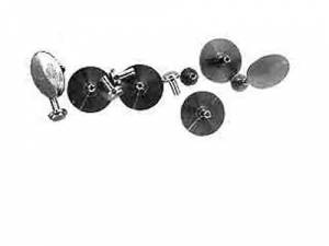 SCHAR-6 - Quartz Second Hand Brass Bushings 12-Pack - Image 1