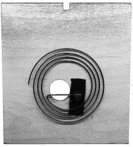 "SCHWAB-14 - Cuckoo Back Cover 4-1/8"" X 4-3/8"" - Image 1"