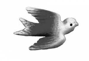 SCHWAB-14 - Bird For Bouncing Doll Clock - Image 1