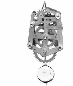 SCHWAB-21 - German Novelty Clock Movement - Image 1