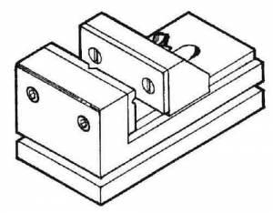 SHER-41 - Milling Vise (#3551) - Image 1