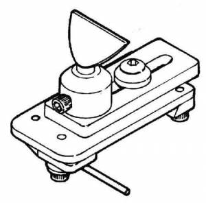 SHERL-41 - W.R. Smith T-Rest For Lathe (Sherline #2110) - Image 1
