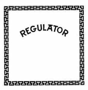 "SHIPLEY-85 - 14"" x 16"" Store Regulator Glass - Image 1"