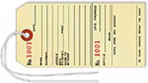 SIERRA-96 - Numbered Repair Tags   100-Pack