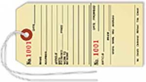 SIERRA-96 - Numbered Repair Tags   100-Pack