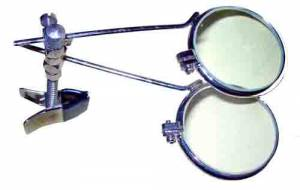 SONA-94 - 6.6X Clip On Double Eye Loupe