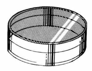 SONA-96 - Round Plastic Boxes   4-Piece Set