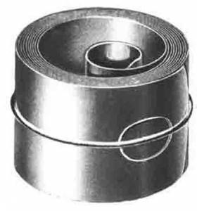 "SPECIAL-20 - 1.25"" x .0173 x 82.6"" Hole End Fusee Mainspring - Image 1"
