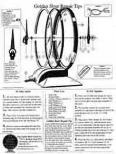 TS-15 - Golden Hour Clock Repair Tips Sheet