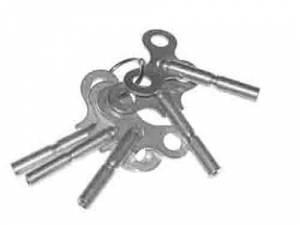 TS-19 - Long Shaft Single End Key 5-Piece Assortment - American Sizes - Image 1