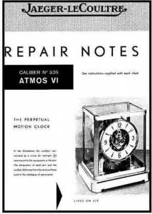 TS-87 - Atmos Repair Guide & Parts List - Image 1