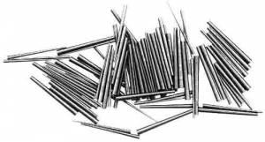 "TS-93 - Long 1"" Steel Taper Pin 100-Piece Assortment - Image 1"