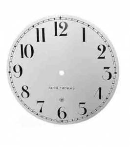 "TT-12 - 11-5/8"" Silkscreened Steel Dial-Arabic - Image 1"