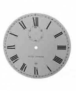 "TT-12 - 11-5/8"" Silkscreened Steel Dial-Roman - Image 1"