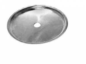 "TT-13 - 6-3/8"" Brass Kitchen Clock Dial Pan - Image 1"
