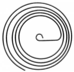 """TT-16 - 4-1/4"""" Wire Gong With Inside Loop - Image 1"""