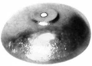 """TT-2 - 1-1/2"""" Brass Bell - Image 1"""