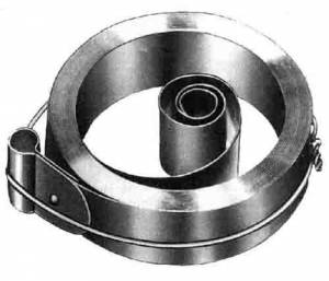 "TT-20 - 3/4"" X .0165"" X 96"" Loop End 8-Day Mainspring - Image 1"