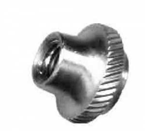 TT-23 - Pendulum Rating Nut -Brass Knurled#10-32 - Image 1
