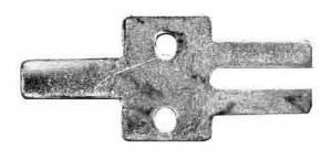 """TT-23 - Pendulum Top Hook For 5/8"""" Rod - Brass - Image 1"""