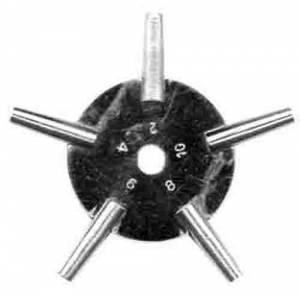 Timesaver - 5-ProngWatch Key (#2-4-6-8-10) - Image 1