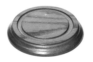 "Timesaver - Walnut Base For 4-5/8"" Glass Dome"