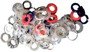 Movement Rings - Plastic 100-Piece Assortment - Image 1