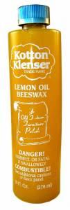 Kotton Klenser Lemon Oil And Beeswax