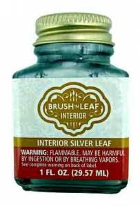 Liquid Metallic Paint - Silver Leaf