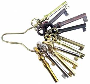 12-Pc. Door Lock Key Assortment