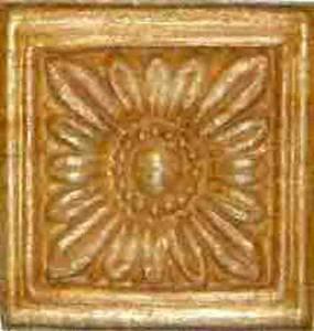 "Pressed Wood Ornament - 1-3/16"" Square - Image 1"