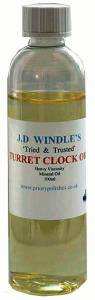 J.D. Windles Turret Oil  100ML
