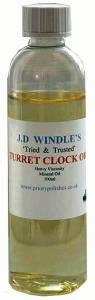 J.D. Windles Turret Oil  100ML - Image 1