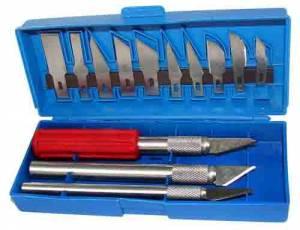 Hobby Knife 16-Piece Set - Image 1