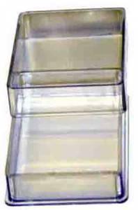 1-Compartment Plastic Storage Box - Image 1