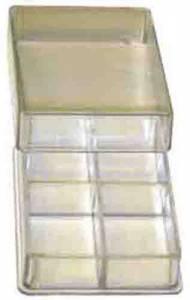 4-Compartment Plastic Storage Box