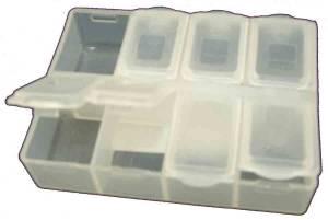 8-Compartment Storage Box