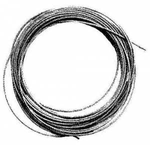 """.040"""" Brass Cable x 100 Foot Roll - Image 1"""