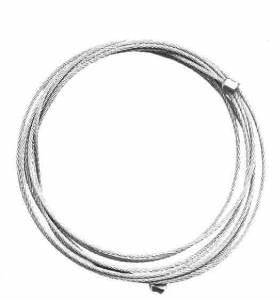 """Kieninger Brass Cable 1.0mm x 90.5"""" Long - Image 1"""