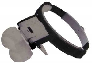 Illuminated Head Magnifier Set