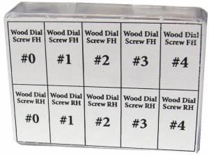 40-Piece Dial Screw Assortment